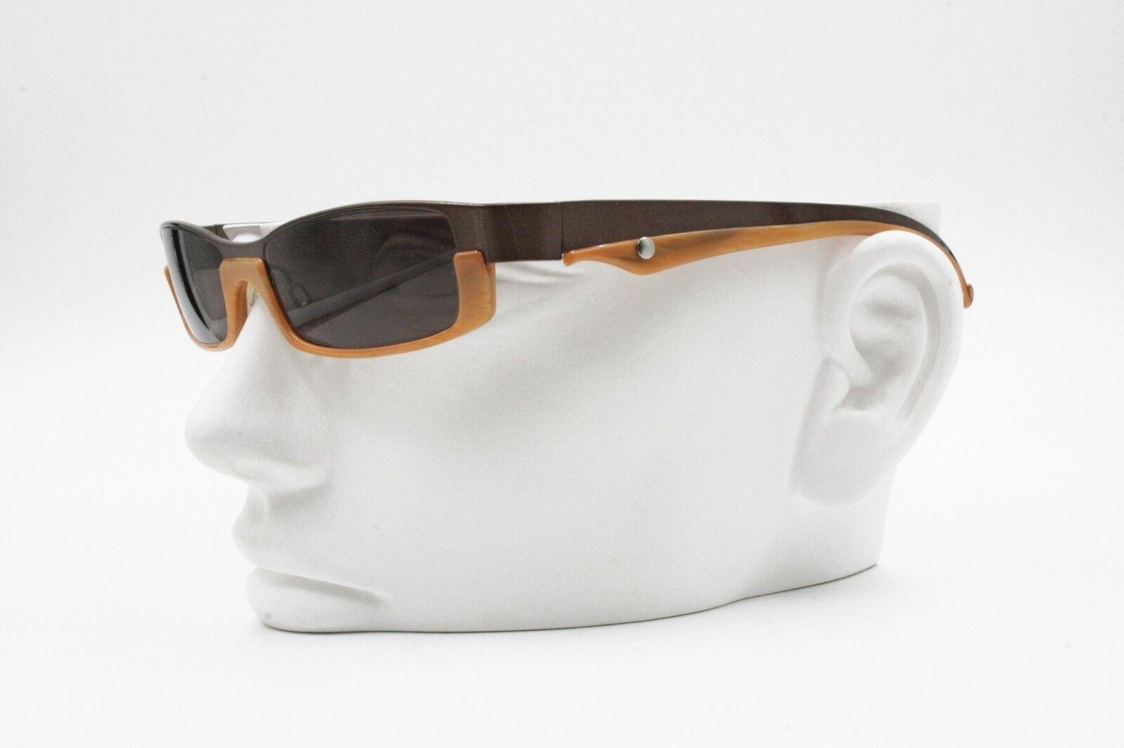 0b26cee262 ... Augusto Valentini mod. 8070 rectangular elegant sunglasses, bronze &  caramel caramel caramel   Big ...