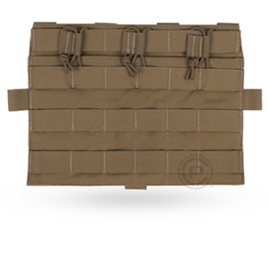 Crye Precision - AVS Detachable Flap Flat Mag Pouch - Coyote - Holds 3 Mags