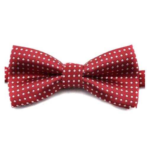 Bow Tie Classic Fashion Boys Kids Adjustable Tuxedo Bowtie Ties Wedding Necktie