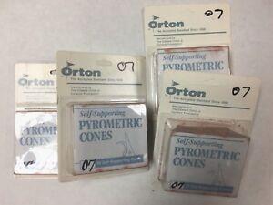 Orton self supportive cones #07 lot of 40