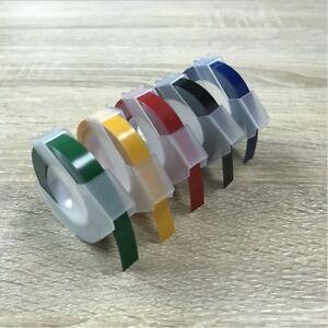 Hersteller Typ Label Klebeband für MOTEX Dymo Ersatz 5 Farben 9mm X 3M brandneu