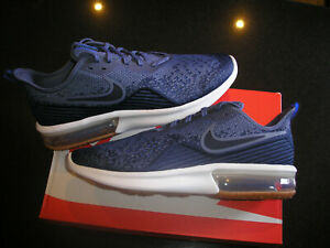 Shoes NIKE Air Max Sequent 4 AO4485 400 Midnight NavyObsidian
