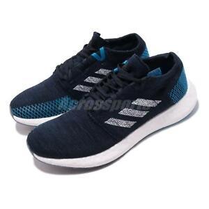 a8efac33e73b8 adidas PureBOOST Go Blue Navy White Men Running Training Shoes ...
