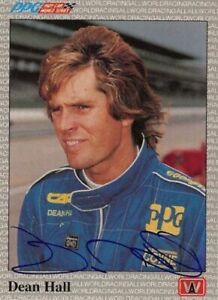 Dean-Hall-1991-All-World-Indy-Signed-Card-Auto