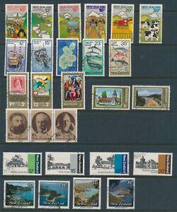 NEW-ZEALAND-1978-79-7-sets-used