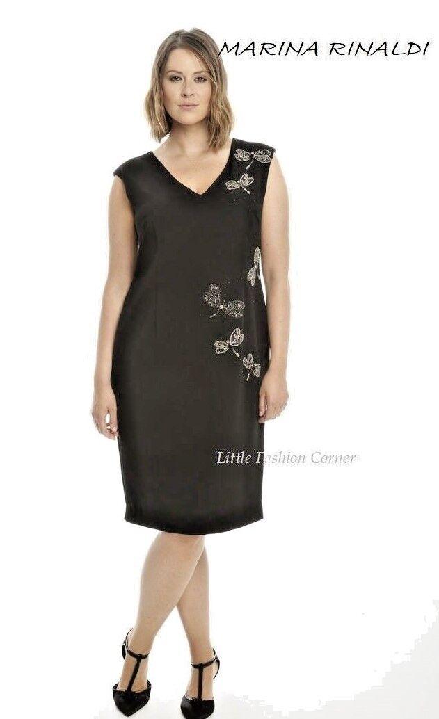 2a0f08af9d1 Marina Rinaldi Rinaldi Rinaldi by MAX MARA Cady Dress NORMAL size USA 12 I  46 D 42 GB 14 MR 17 d81ade