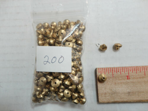 Solid Brass Fishing Beads