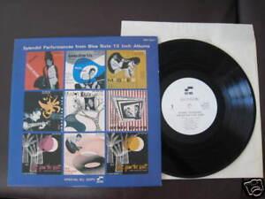 Blue-Note-Sampler-Japan-Promo-only-10-inch-Vinyl-LP-Tal-Farlow-Wynton-Kelly