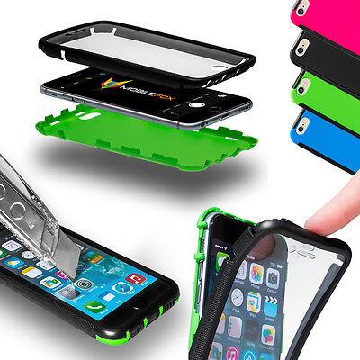 mobilefox Handy Tasche Touch Case Schutz Hülle Display Full Cover Bumper Etui