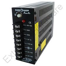 Suzo Happ Power Pro JAMMA Arcade Switching PSU Supply - 115V/230V, +5V +12V -5V