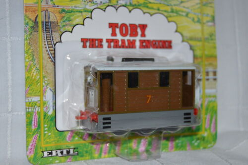 New TOBY- DIECAST 1992 ERTL Shining Time THOMAS THE TANK /& FRIENDS