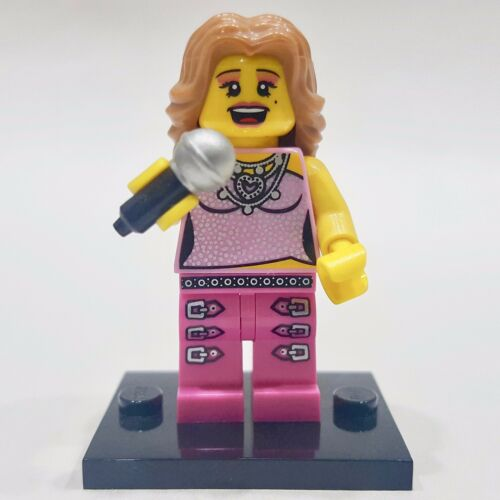 "LEGO Collectible Minifigure #8684 Series 2 /""POP STAR/"" Complete"