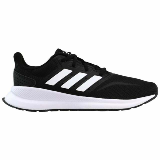 adidas Boys Kids Runfalcon Black/white Running Shoes Size 6 US Regular