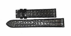 EBERHARD-cinturino-coccodrillo-nero-black-strap-18mm-ref-814-ex-813-ORIGINAL