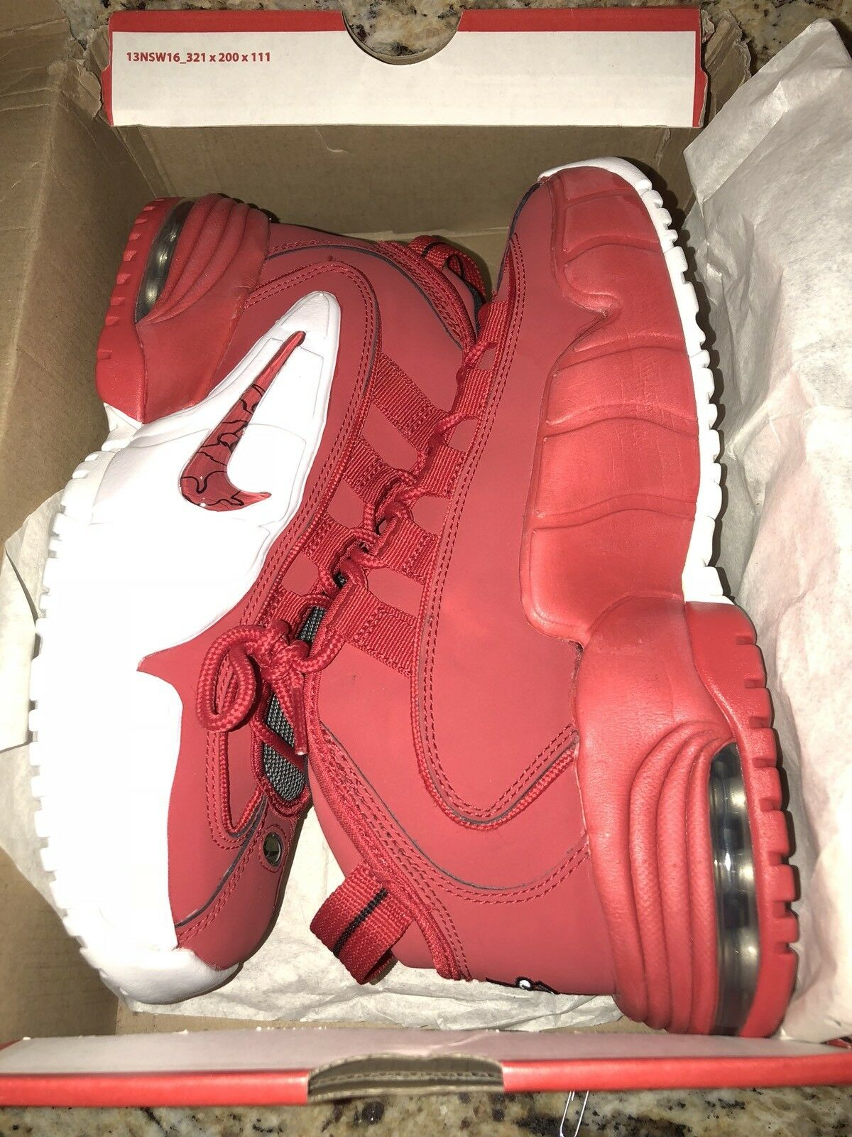 neue penny nike air max 1 penny neue einen retro - feuer an red 685153-600 ds 6,5 6272be