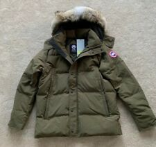 73f4d1a750d Canada Goose Mens Military Green Wyndham Parka Coat Size XLarge 44-46 Chest  New