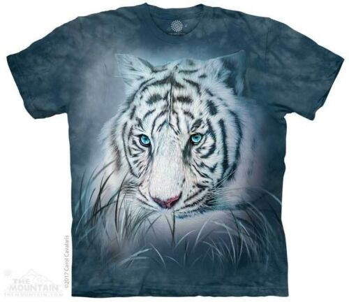 Wild Tiger Sizes S-5XL NEW Thoughtful White Tiger T-Shirt by The Mountain