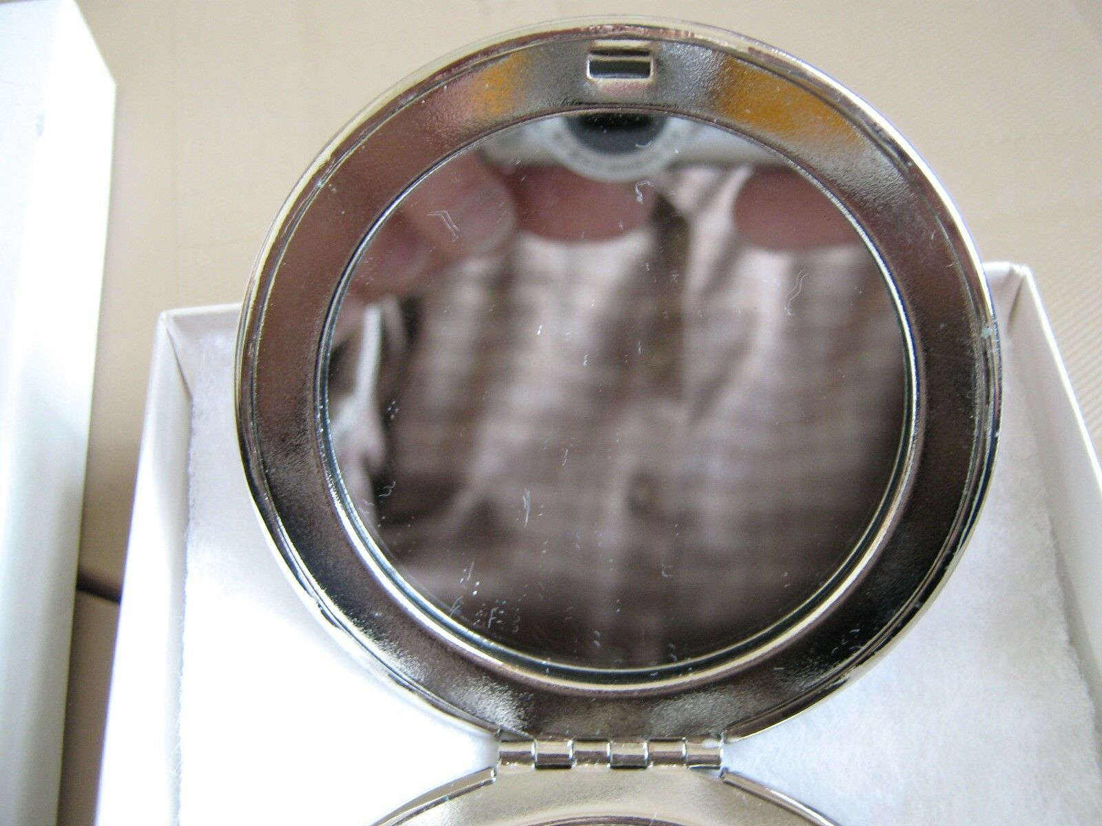 Old Navy ,Mirror Compact , Magnifying / Regular Dual Si