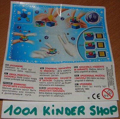 KINDER 2S-80 EXTRA-ROBOTS BPZ VARIANTE EE JOY
