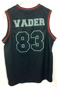 Lucas-Film-Ltd-Star-Wars-Darth-Vader-83-Basketball-Jersey-Size-34-36