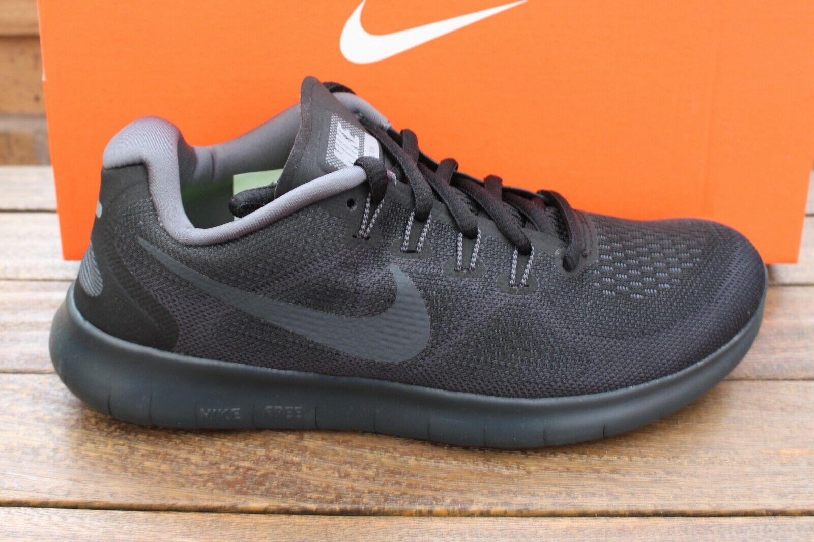 damen Nike Free RN 2017 Trainers 880840-003 UK sz4 EU sz37.5