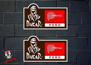 Details About Pegatina Sticker Autocollant Adesivi Aufkleber Rally Dakar 2019 Peru Laminated
