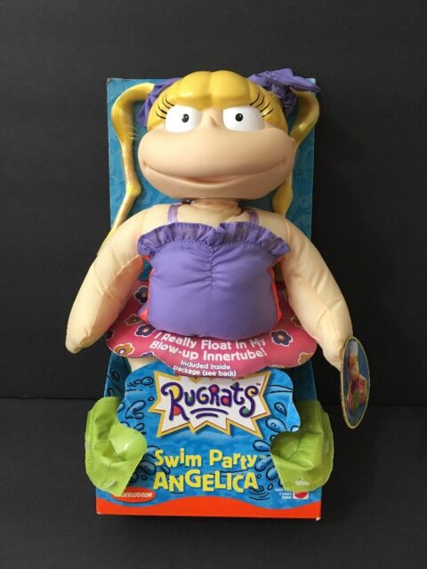 8ef6fe084e 1999 Swim Party Rugrats Angelica Doll With Floating Inner Tube