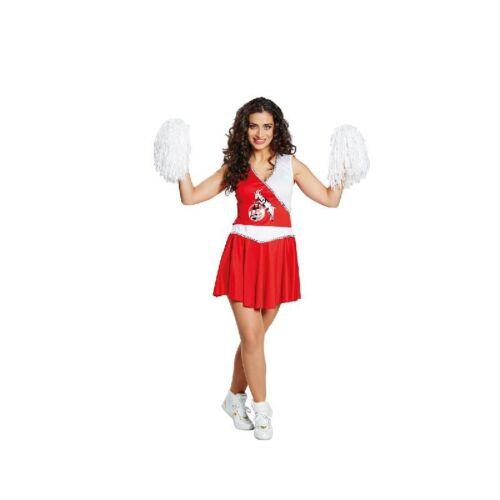1.FC Köln Hennes Cheerleader Damen Kostüm Rub