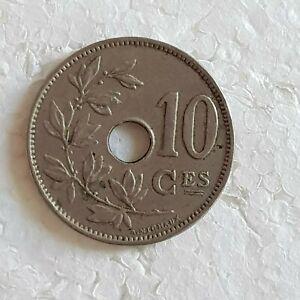 PIECE-BELGIQUE-10-centimes-Belge-de-1929