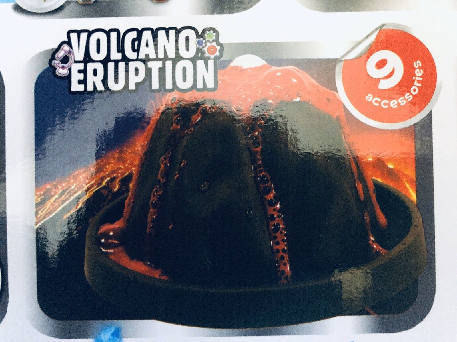 Volcano Eruption & 7 Other ExperiSiets Science and ExperiSiet Kit   8in1
