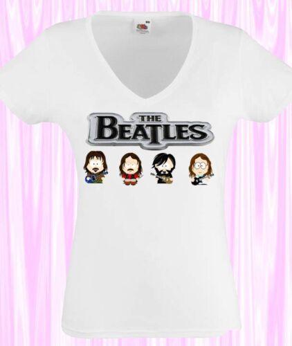 THE BEATLES model:5 WOMEN t-shirt the beatles clothing shirt girls lady damen