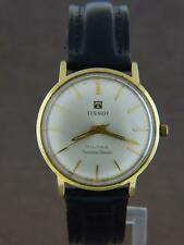 Tissot Militar Seastar Seven 315T 14K Gold Hand Wind Automatic Men's Watch