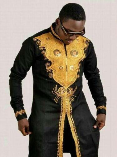 matching shirt and pant//African clothing African men cloth African Dashik set
