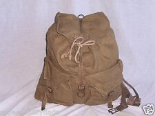 "Italian Backpack Field Pack genuine italian military rucksack good 20"" x 18"""