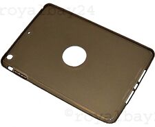 iPad mini 2 Retina Silikonhülle Schutz grau slim case grey Smart Cover Rückseite