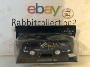 DIE-CAST-034-MASERATI-MISTRAL-1964-034-MASERATI-COLLECTION-SCALA-1-43