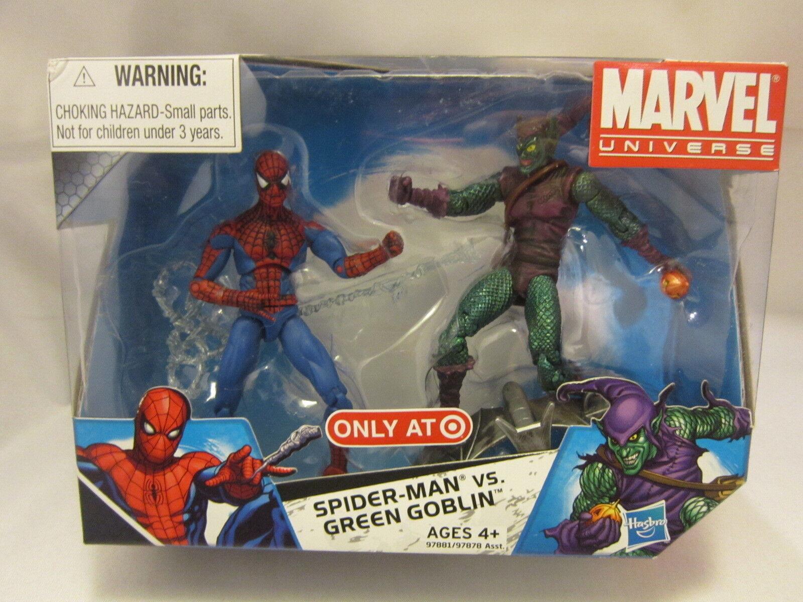 Marvel - universum  spider - man  vs. Grün goblin eine exklusive