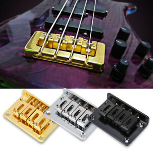 4-string-Alloy-Guitar-Fixed-Bridge-for-Cigarbox-Electric-Guitars-Bass-Ukulele
