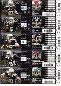 C 2017 New Orleans Saints SEASON Ticket Prices