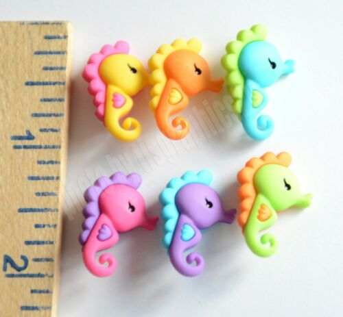 Sea Life Under the Sea Jesse James ~ Dress it Up Sea Horse Shank Buttons