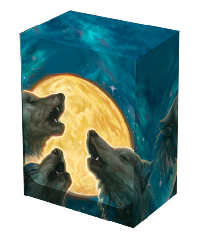 Legion 3 Wolf Moon Deck Box for up to 100 Sleeved Cards