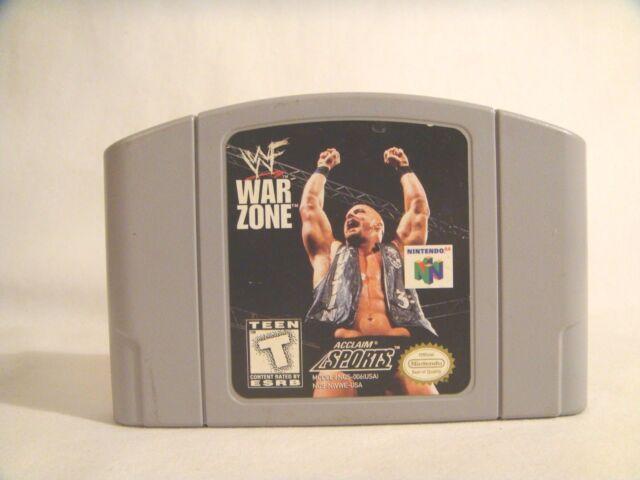 WWF War Zone (Nintendo 64, 1998) game only