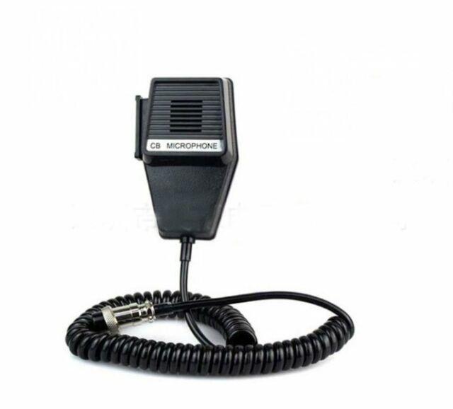 Replacement Cb Microphone 4 Pin Uniden Wiring  Cobra  Tti 550 Maxon Cm10 Etc