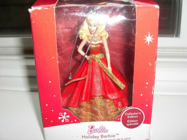 2014 HOLIDAY BARBIE ORNAMENT American Greetings new ...