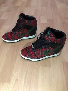 new arrival bea9d b5237 Image is loading NIKE-Dunk-Sky-Hi-wedge-City-LONDON-Christmas-