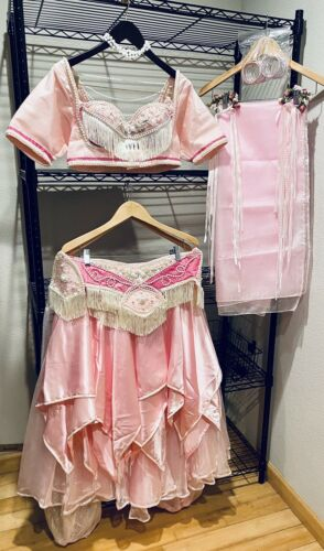 Pink Belly dance costume, used