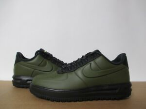 pretty nice 6e668 c540a Image is loading NIKE-AIR-FORCE-1-LF1-DUCKBOOT-LOW-OLIVE-