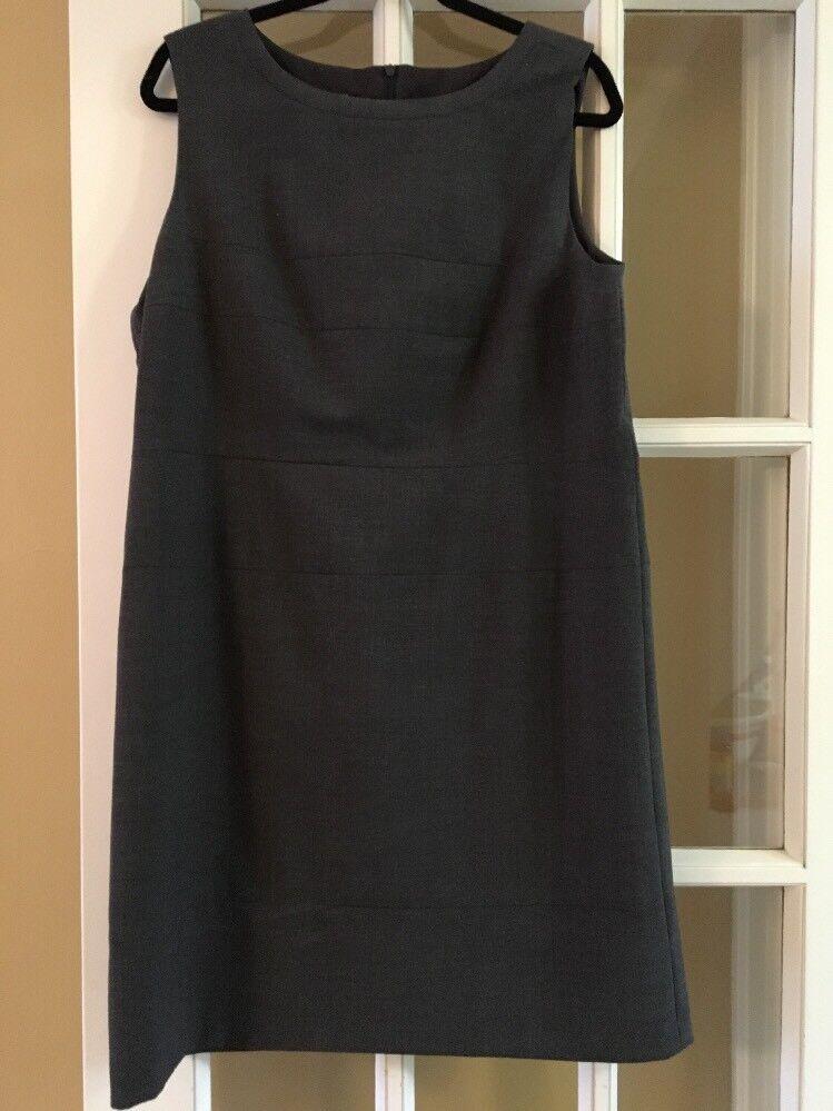Stunning Marc Aurel Shift Dress Size 44 Grey