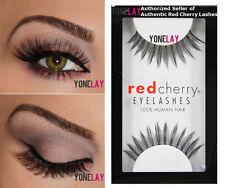 1 Pair AUTHENTIC RED CHERRY #38 Daisy False Eyelashes Human Hair Fake Eye Lashes