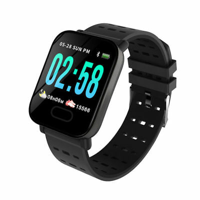 Waterproof Sport Smart Watch Blood Pressure Heart Rate Monitor iPhone Android CC